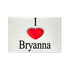 Bryanna Rectangle Magnet