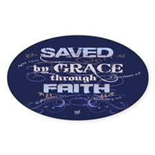 Saved by Grace Decal