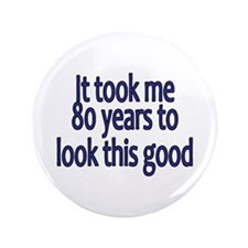"""Unique Years 3.5"""" Button (100 pack)"""