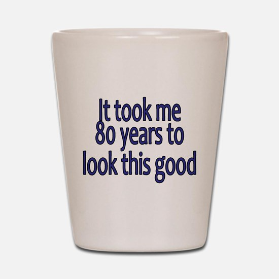 Unique 80 years old Shot Glass