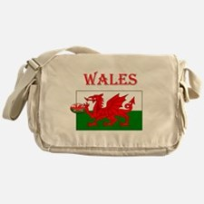 Wales Rugby Messenger Bag