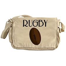 Rugby Ball Messenger Bag
