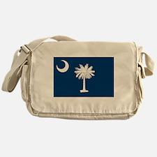 South Carolina Flag Messenger Bag