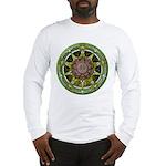 Earth Elemental Pentacle Long Sleeve T-Shirt