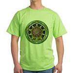 Earth Elemental Pentacle Green T-Shirt