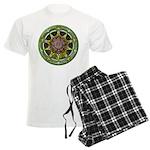 Earth Elemental Pentacle Men's Light Pajamas