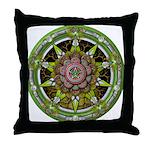 Earth Elemental Pentacle Throw Pillow