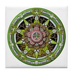 Earth Elemental Pentacle Tile Coaster