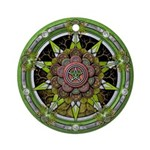 Earth Elemental Pentacle Ornament (Round)