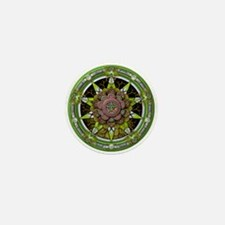 Earth Elemental Pentacle Mini Button
