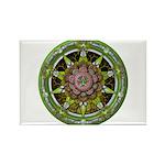 Earth Elemental Pentacle Rectangle Magnet (10 pack