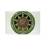 Earth Elemental Pentacle Rectangle Magnet (100 pac
