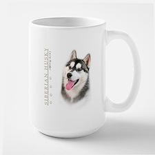 Siberian Husky Large Mug