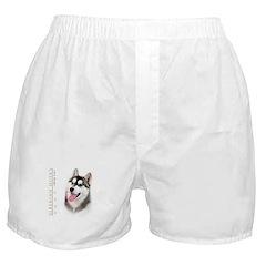 Siberian Husky Boxer Shorts