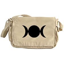 Tripple Moon Goddess Messenger Bag