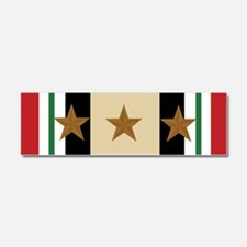 Iraq Campaign 3 Star Car Magnet 10 x 3