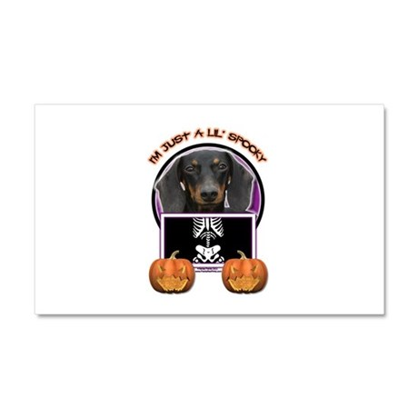 Just a Lil Spooky Doxie Car Magnet 20 x 12
