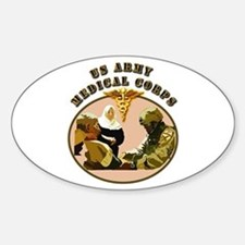 Army - Medical Corps - Medic Decal