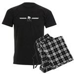 Bulldog Men's Dark Pajamas
