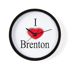 Brenton Wall Clock