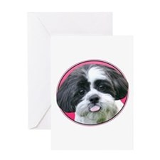 Funny Shih Tzu Greeting Card