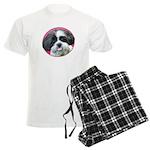 Funny Shih Tzu Men's Light Pajamas