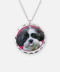 Funny Shih Tzu Necklace