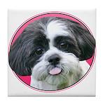 Funny Shih Tzu Tile Coaster