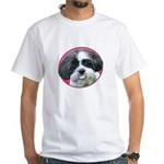 Funny Shih Tzu White T-Shirt