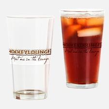 HockeyLounge.com Drinking Glass