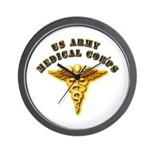 Army - Medical Corps Wall Clock