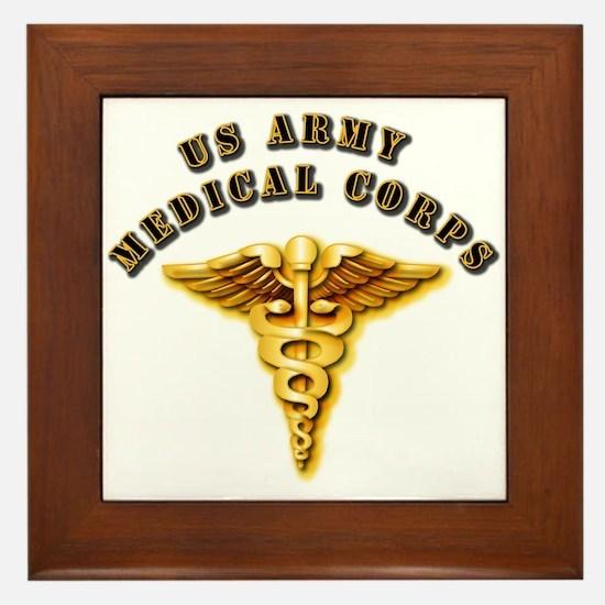 Army - Medical Corps Framed Tile