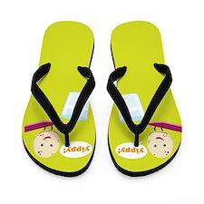 Milk & Cookie Flip Flops