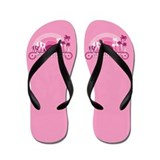 Bride to be flip flops Flip Flops
