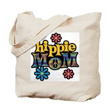 Hippie Mom Tote Bag