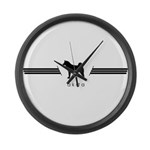 Akita Large Wall Clock