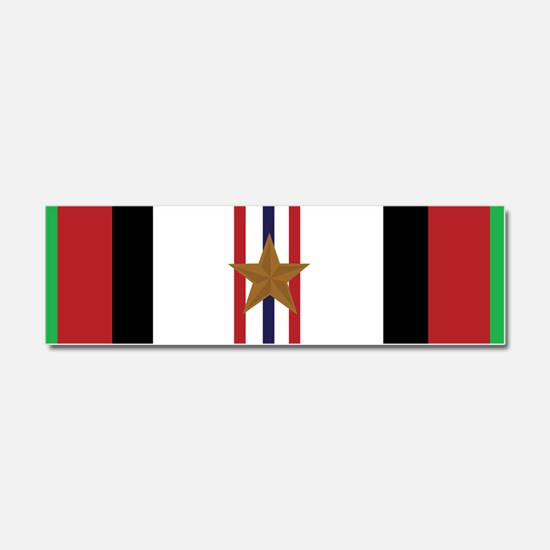 Afghanistan Campaign 1 Star Car Magnet 10 x 3