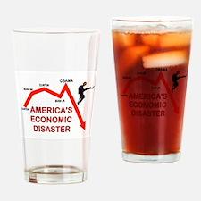 RUINING AMERICA Drinking Glass