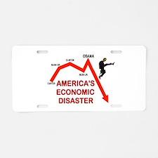 RUINING AMERICA Aluminum License Plate