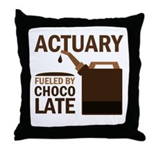 Actuary Gift Throw Pillow
