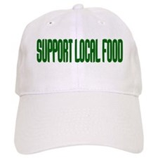 Support Local Food Baseball Cap