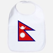 Nepalese Flag Bib