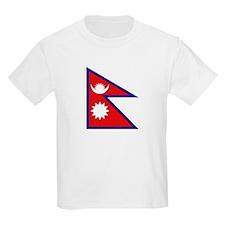 Nepalese Flag Kids T-Shirt