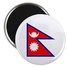 Nepalese Flag Magnet