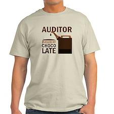 Auditor Chocoholic Gift T-Shirt