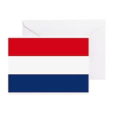 Dutch Flag Greeting Cards (Pk of 10)