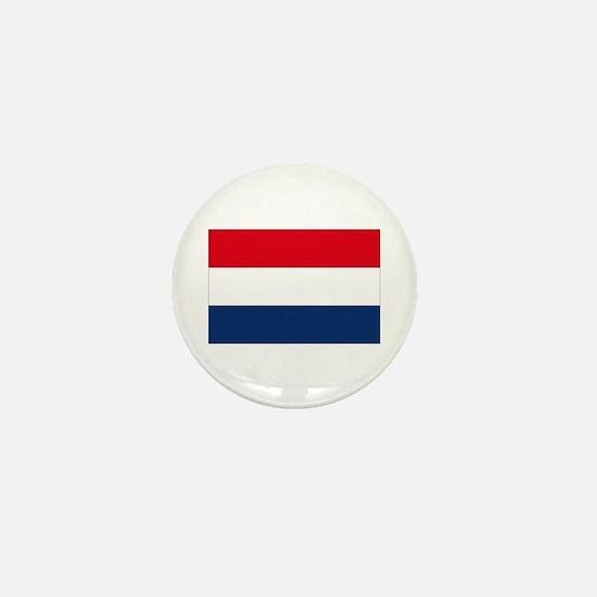 Dutch Flag Mini Button