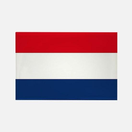 Dutch Flag Rectangle Magnet