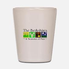 The Berkshires 4 seasons of fun Shot Glass