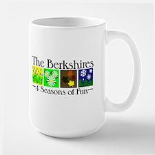 The Berkshires 4 seasons of fun Large Mug